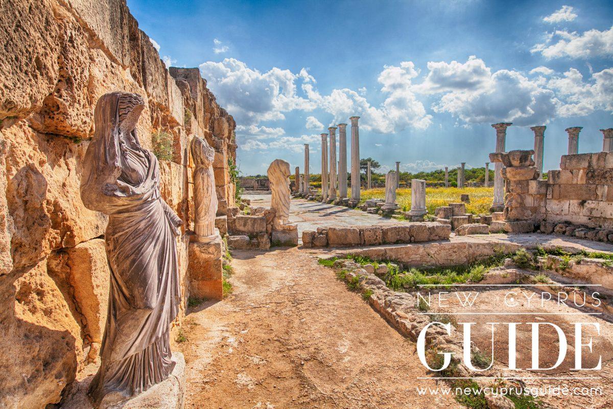 Salamis Ruins New Cyprus Guide