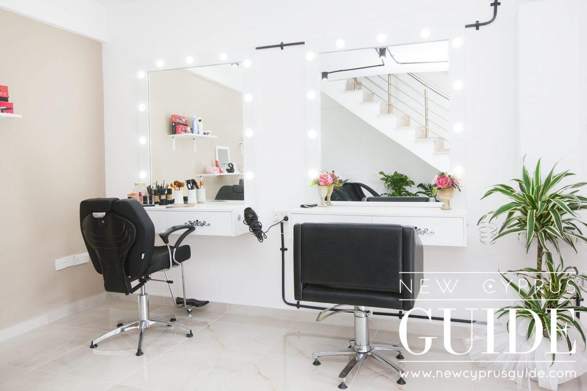 black pink luxury beauty salon new cyprus guide. Black Bedroom Furniture Sets. Home Design Ideas