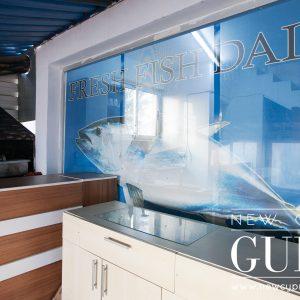 Mavi Balikçılık in Iskele serves fresh fish