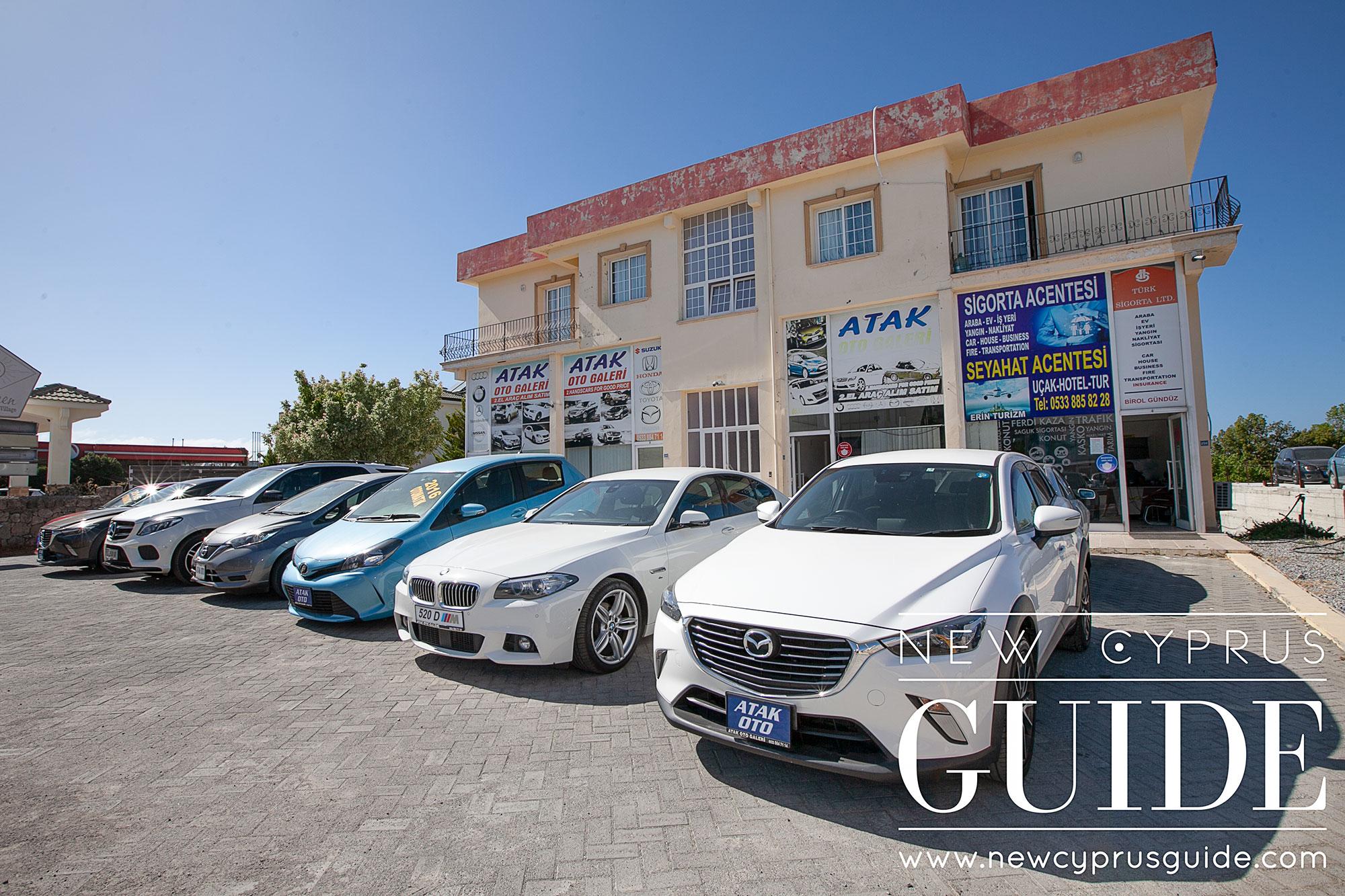 Atak Oto Gallery - New Cyprus Guide