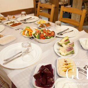 Mektepbasi Meyhane servers traditional Cypriot cuisine