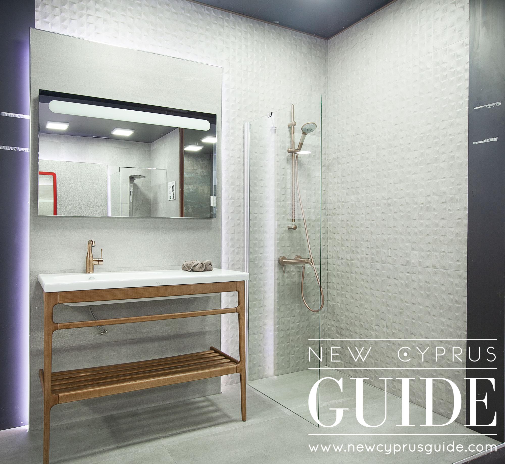 Mepas Bathroom - Kyrenia - New Cyprus Guide